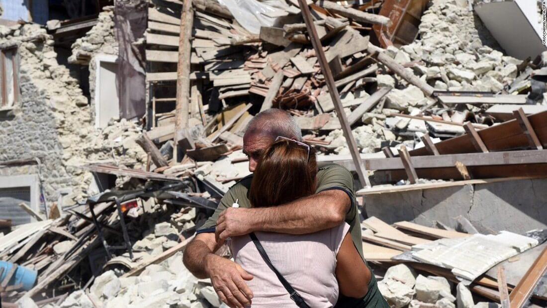 Earthquake Debris