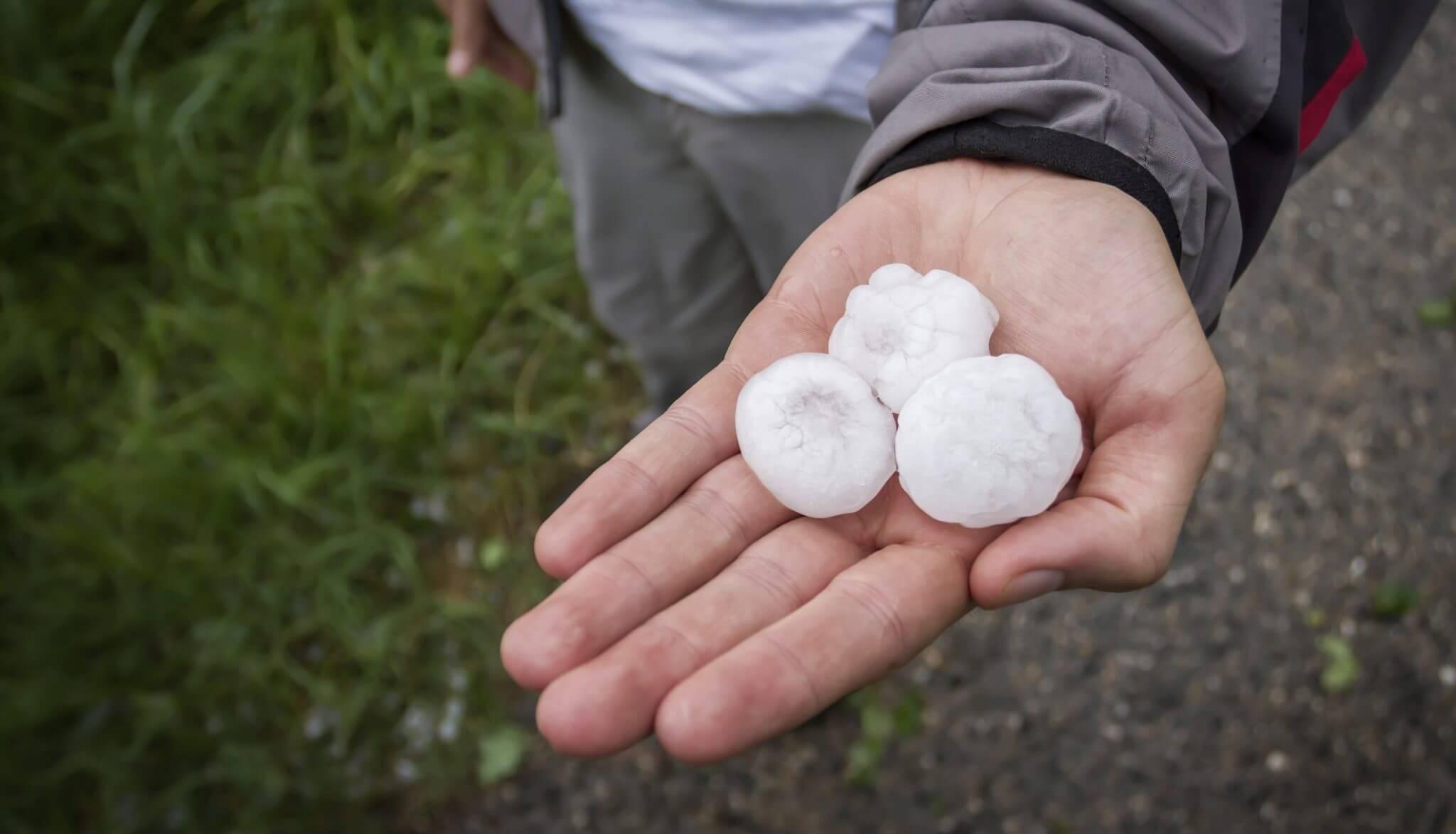 Hail Balls In Hand