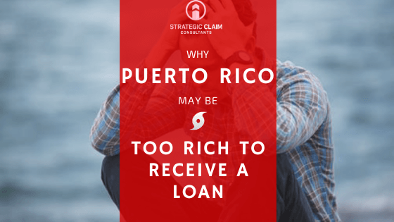 Puerto Rico may be too rich to recieve a loan