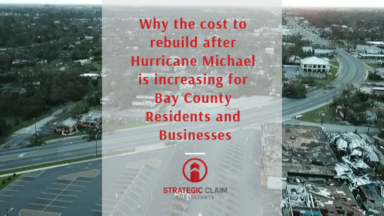 Florida Public Adjuster can help with increasing costs to restore