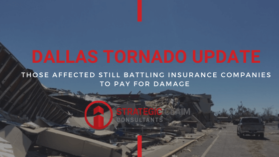 Dallas Tornado Update: 3 months later and people are battling their insurance company