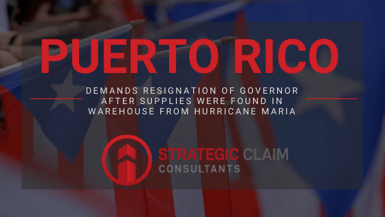 Puerto Rico Earthquake Update: Citizens demand the resignation of the governor after supplies were found in a warehouse from Hurricane Maria.