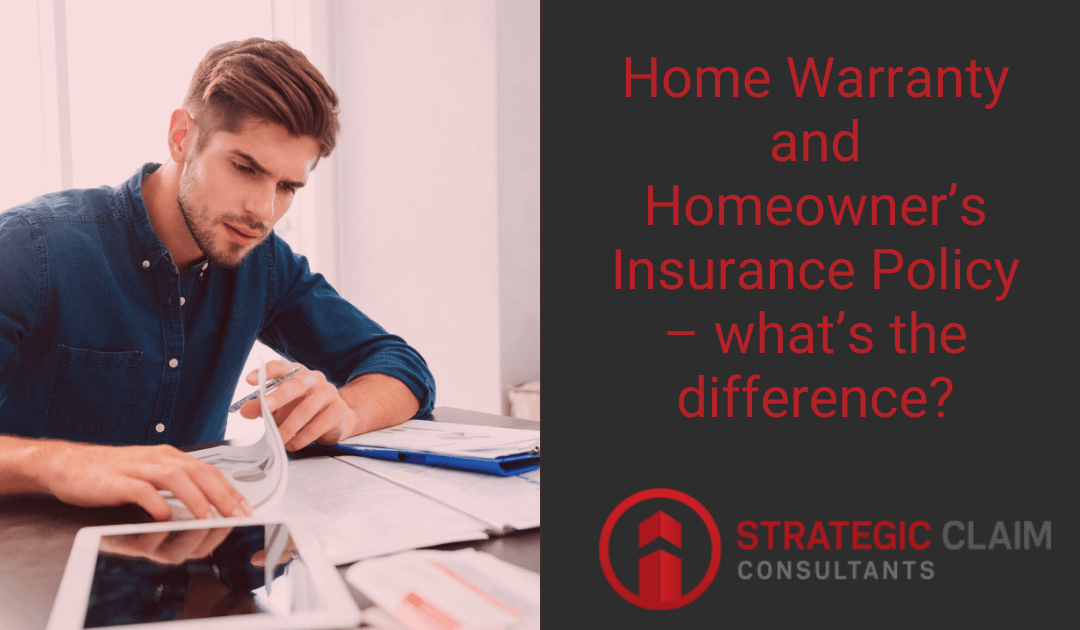 Home Warranty and Homeowner's Insurance Policy – what's the difference?