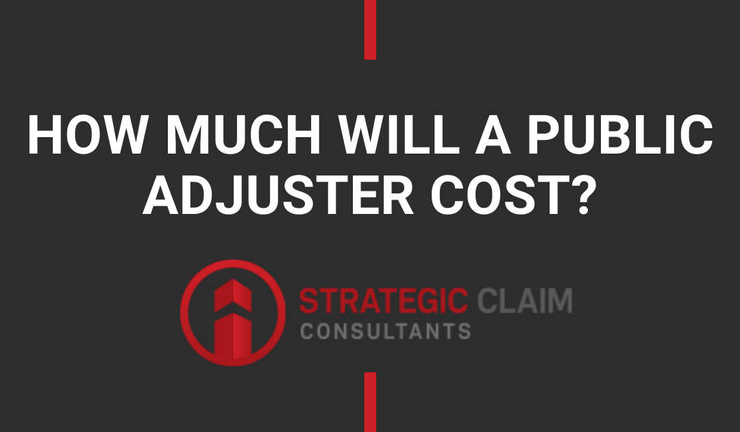 How Much Will A Public Adjuster Cost?