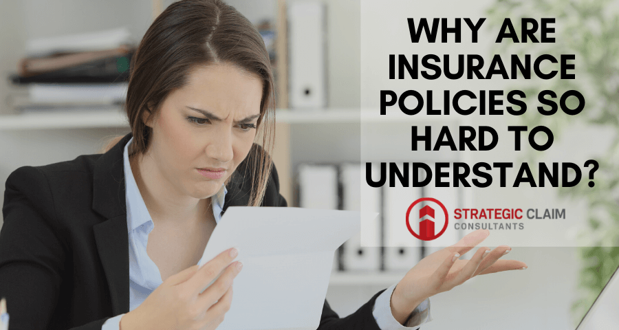 Why Are Insurance Policies So Hard To Understand?