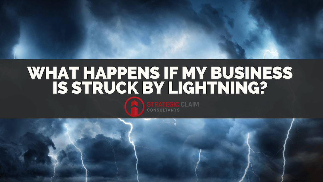 What Happens if my Business' Building is Struck by Lightning?