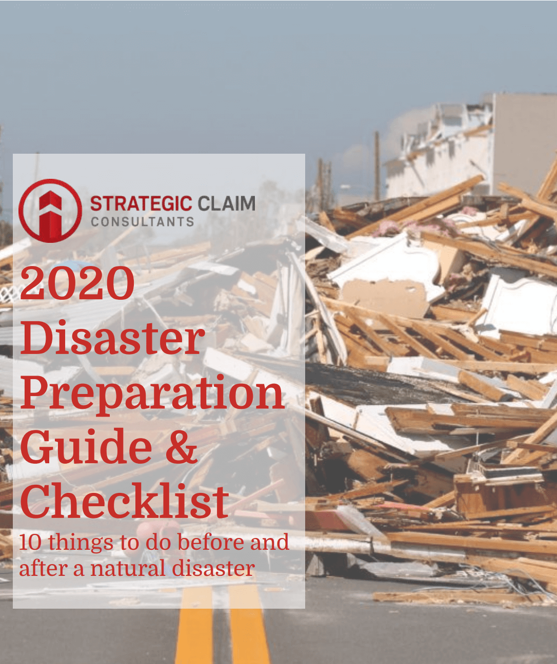 2020 Disaster Prep Guide & Checklist | Strategic Claim Consultants